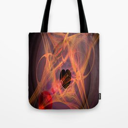 Spring with heart Tote Bag