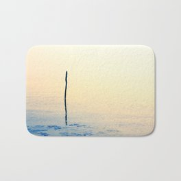 Freezing cold weather on a very calm day Bath Mat
