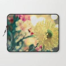 Flowery light Laptop Sleeve