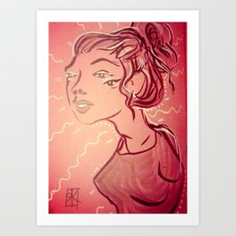 Extraordinary Girl Art Print