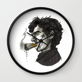 London Smoking Habit Wall Clock