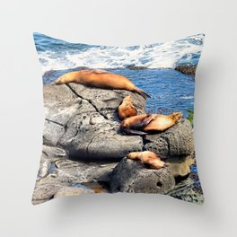 Selkies Throw Pillow