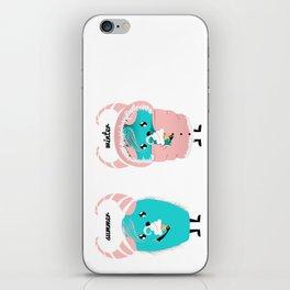 Ice-cream lovers iPhone Skin