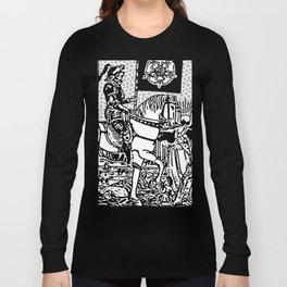 Modern Tarot Design - 13 Death Long Sleeve T-shirt