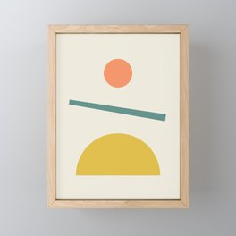 Sunrise / Sunset Framed Mini Art Print