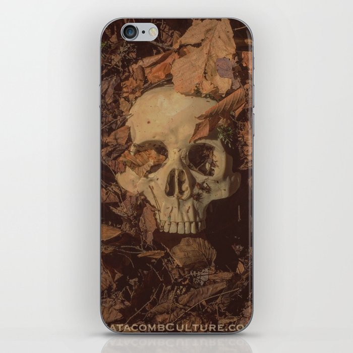 Catacomb Culture - Human Skull Forest iPhone Skin