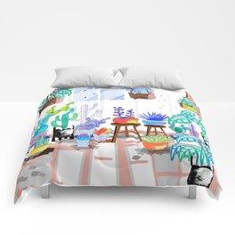 My Little Garden - illustration 2 Comforters