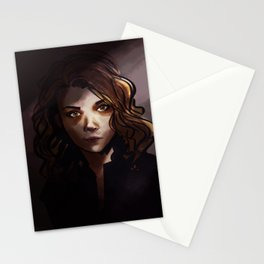 elementary: jamie moriarty [3] Stationery Cards