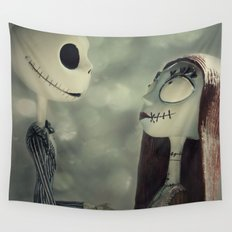 Take My Hand (Nightmare Before Christmas) Wall Tapestry