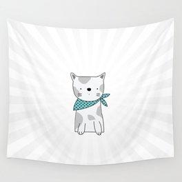 Shining Cat Wall Tapestry