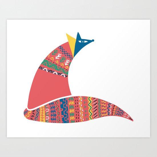 Tribal Chief Art Print