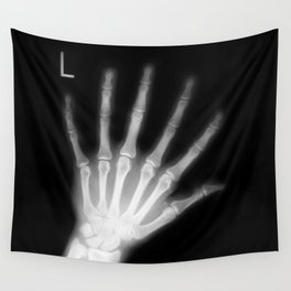 Extra Digit X-Ray Wall Tapestry