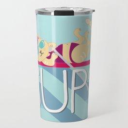 SUP Cat Travel Mug