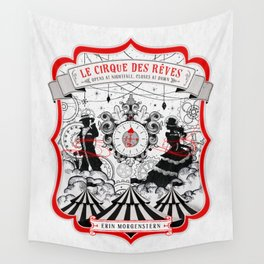The Night Circus - light Wall Tapestry