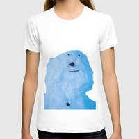 snowman T-shirts featuring Snowman  by AstridJN
