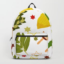 Sukkot pattern Backpack