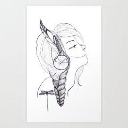 Peace Keeper Art Print