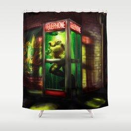 Loveland Frog Shower Curtain