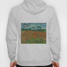 Vincent Van Gogh Poppy Field Hoody