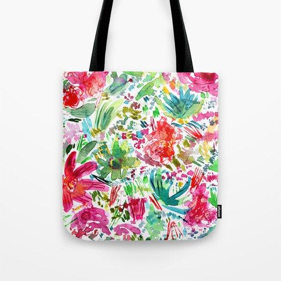 Spring vibes || watercolor Tote Bag