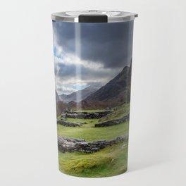 Dolbadarn Castle Snowdonia Travel Mug