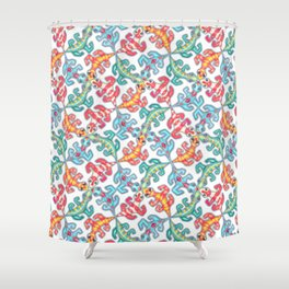 Tricky Tessellations Shower Curtain