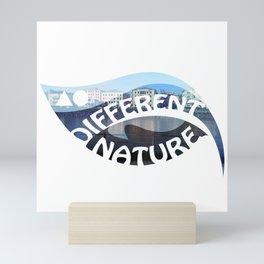 DIFFERENT NATURE - SALZBURG BANKS Mini Art Print