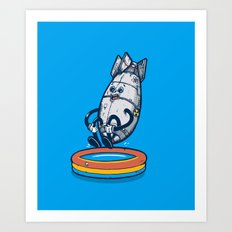 Da'bomb Art Print
