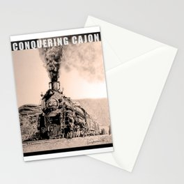 Conquering Cajon Stationery Cards