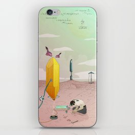 Land of Crystals iPhone Skin