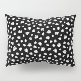 Eyeroll on Repeat Black Pillow Sham
