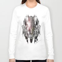 final fantasy Long Sleeve T-shirts featuring Final Fantasy by MatthewTew