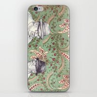 men iPhone & iPod Skins featuring Old Men by Jason Ratliff
