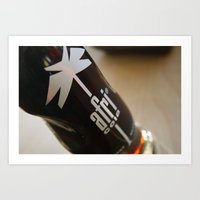 Afri Cola Bottle Art Print