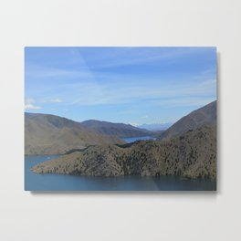 Mount Cook Distance Metal Print