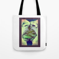 valentines Tote Bags featuring Valentines by Kaleidoscopic