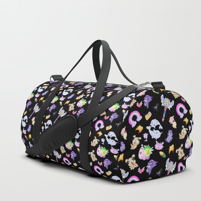 Star vs the Forces of Evil Pattern ( black ) Duffle Bag by ... d67f506aed3ac