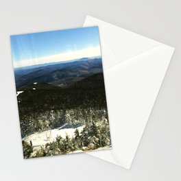 Killington, Vermont Mountain Winter Peak Stationery Cards