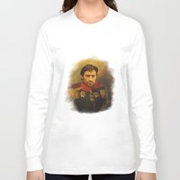 replaceface Long Sleeve T-shirts featuring Hugh Jackman - replaceface by replaceface
