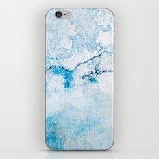 blue wall iPhone & iPod Skin