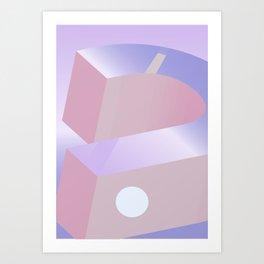Geometric Calendar - Day 9 Art Print