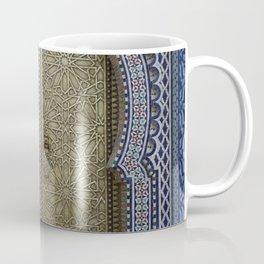 Arabic Mosaic Door gold Marokko Coffee Mug