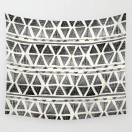 Tribal Geometric Chevron Stripes Wall Tapestry