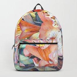 Aquarell Floral 02 Backpack