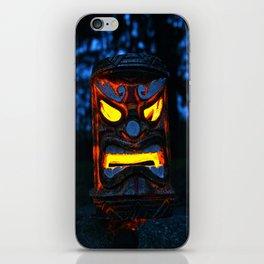 The return of Tiki iPhone Skin