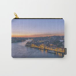 The view from Serra do Pilar - Porto and Gaia Carry-All Pouch
