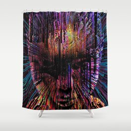 The Shaman Shower Curtain