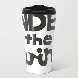 UNDER the WIRE Metal Travel Mug