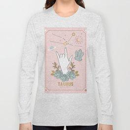 Taurus Zodiac Series Long Sleeve T-shirt