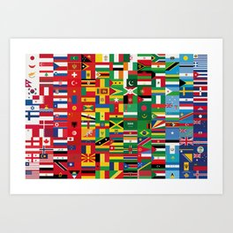 New World Order (By Color) Art Print